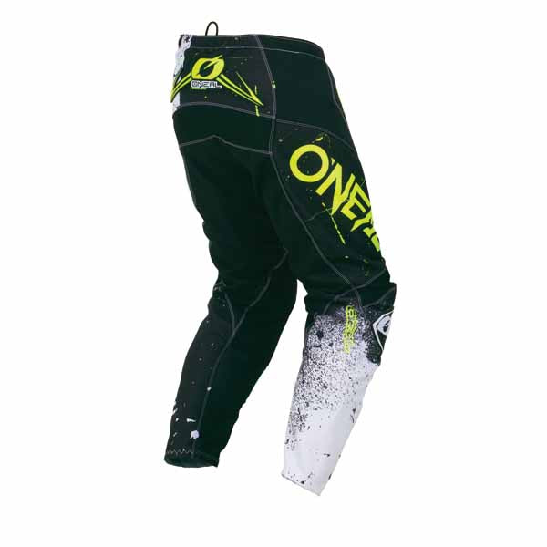 ONEAL Element Racewear Pants - Shred - Black/White - Adult