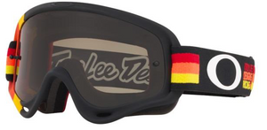 Oakley XS O Frame - TLD Pre-Mix RYO MX Goggles with Dark Gray Lens