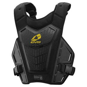 EVS Revo 4 Roost Deflector - Black - Adult Body Armour