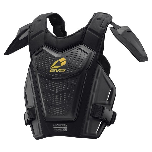 EVS Revo 5 Roost Deflector - Black - Adult Body Armour