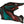 ONEAL 2 Series Helmet - Spyde - Black/Red/Teal - Adult