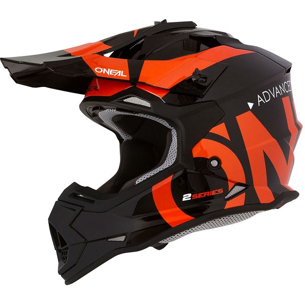 ONEAL 2 Series Helmet - Slick - Black/Orange - Youth