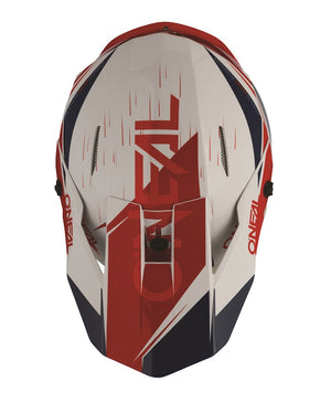 ONEAL 3 Series Helmet - Stardust - White/Blue/Red - Adult