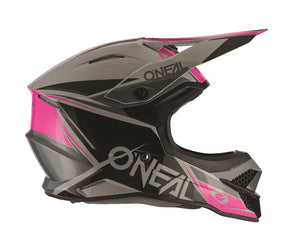 ONEAL 3 Series Helmet - Stardust - Black/Grey/Pink - Adult (Women's)