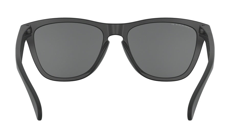 Oakley Frogskins Sunglasses - Matte Black with Prizm Black Polarized Lens
