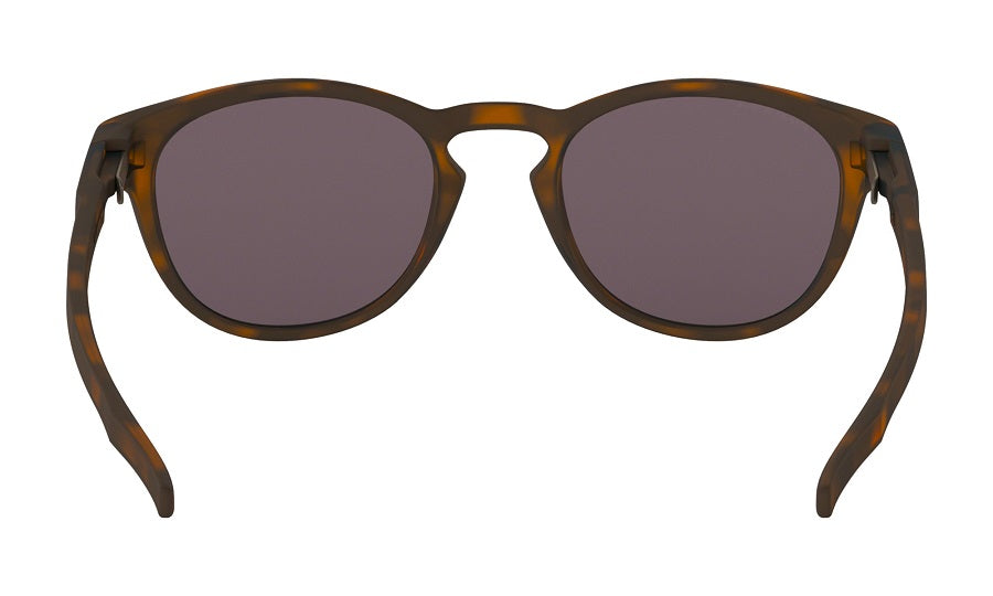 Oakley Latch Sunglasses - Matte Brown Tortoise with Prizm Grey Lens
