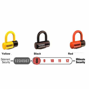 Kryptonite Evolution Series 4 Disc Lock - Yellow