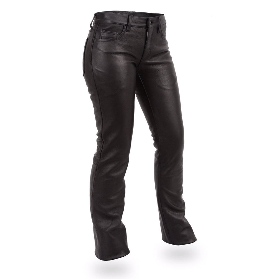 First Manufacturing Alexis Ladies Leather Pants