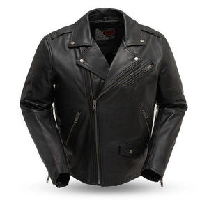 First Manufacturing Enforcer - Men's Leather Motorcycle Jacket