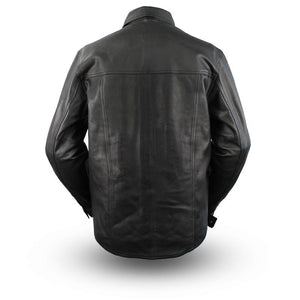First Manufacturing Milestone - Men's Motorcycle Leather Shirt