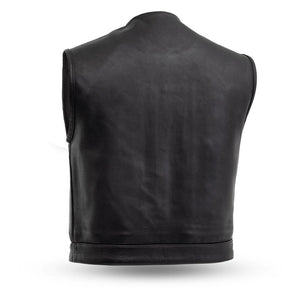 First Manufacturing Lowside - Men's Leather Motorcycle Vest
