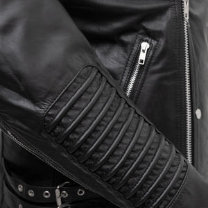 Brooklyn - Men's Leather Jacket