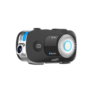 SCS S-10 Bluetooth Communication Unit, 1080P Camera, Multi-user up to 4 riders