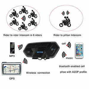 SCS S-1 Bluetooth Communication Unit Multi-user up to 6 riders