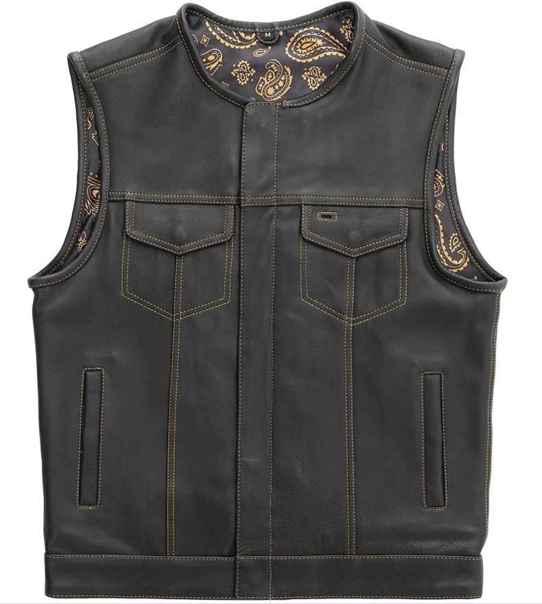 KNIGHT - LIMITED EDITION FACTORY CUSTOM LEATHER VEST