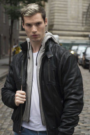 William - Men's Leather Jacket