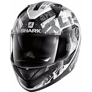 SHARK RIDILL KENGAL WHITE BLACK & SILVER