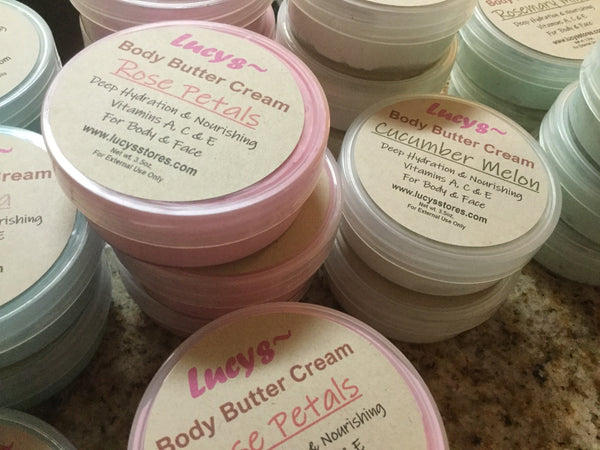 Body Butter Cream | Deep Hydration | 3.5 ounces - Lucy's Stores