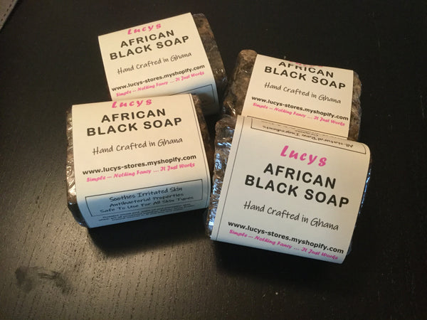 African Black Soap | All Skin Types - Lucy's Stores