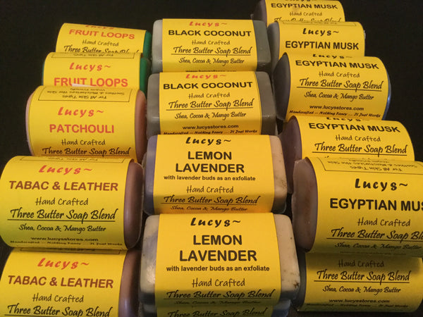 3 Butter Blend Soap | Moisturizing - Lucy's Stores