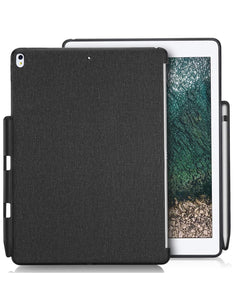 iPad Pro 10.5 Back Cover Case With Apple Pencil Holder -Smart Cover Supported