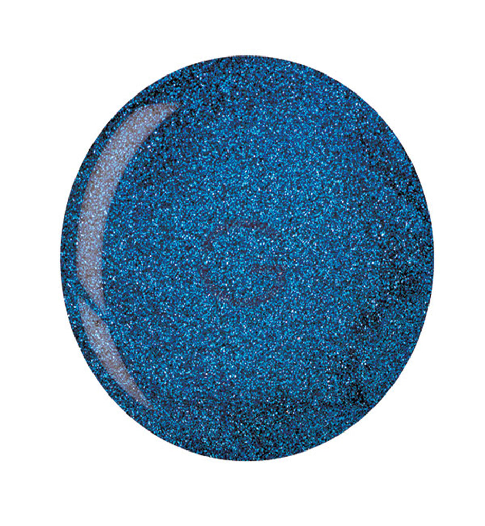 CUCCIO | POWDER POLISH DIP |  5543 DEEP BLUE W/BLUE MICA | 1.6 OUNCES
