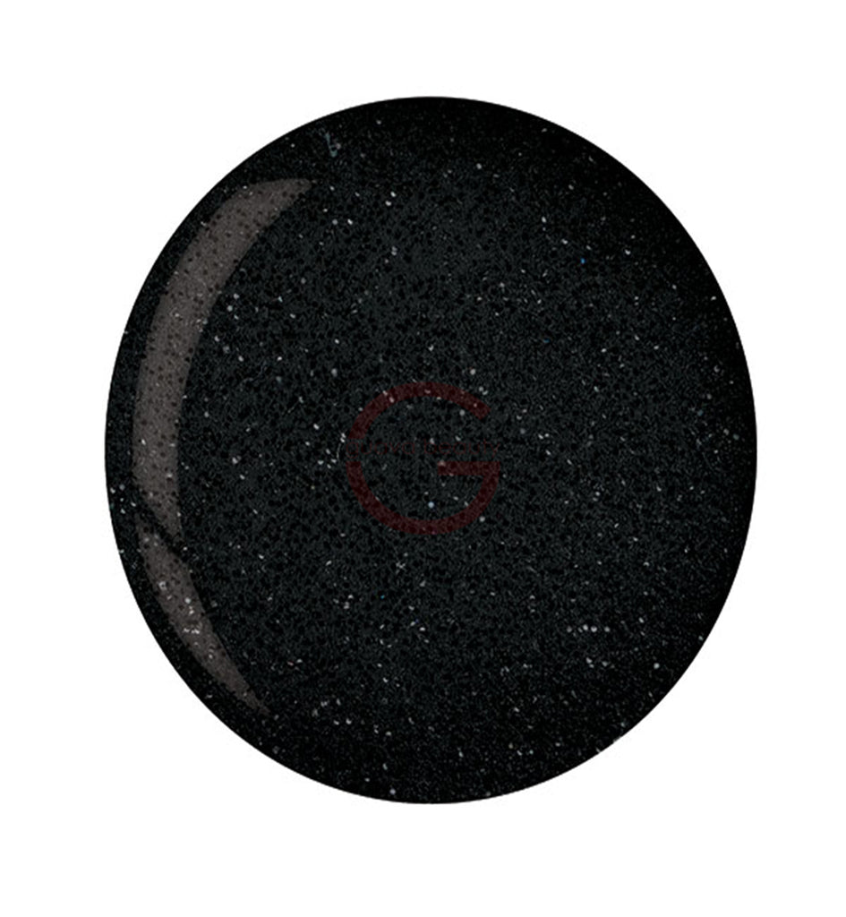 CUCCIO | POWDER POLISH DIP |  5560 BLACK GLITTER | 1.6 OUNCES