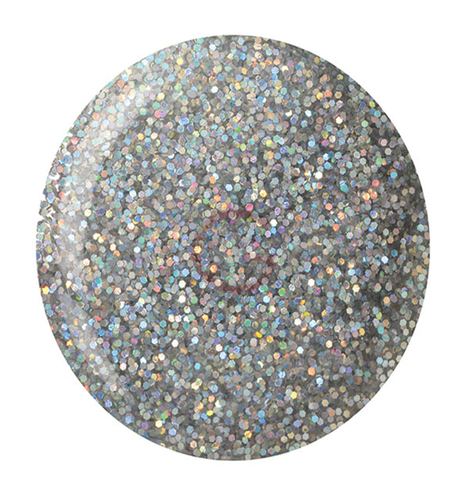 CUCCIO | POWDER POLISH DIP | 5570 LIGHT BLUE GLITTER  | 1.6 OUNCES