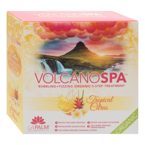VOLCANO SPA PEDICURE TROPICAL CITRUS CASE OF 36 BOX