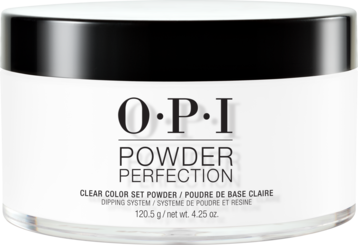 OPI | DIP. TAP. PERFECT POWDER PERFECTION | DP001 CLEAR | 4.25 OUNCES