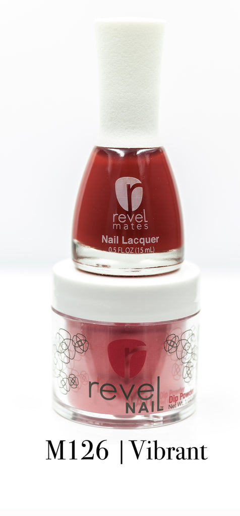 REVEL DUO KIT DIP POWDER AND POLISH | DP126 VIBRANT | Guava Beauty ...