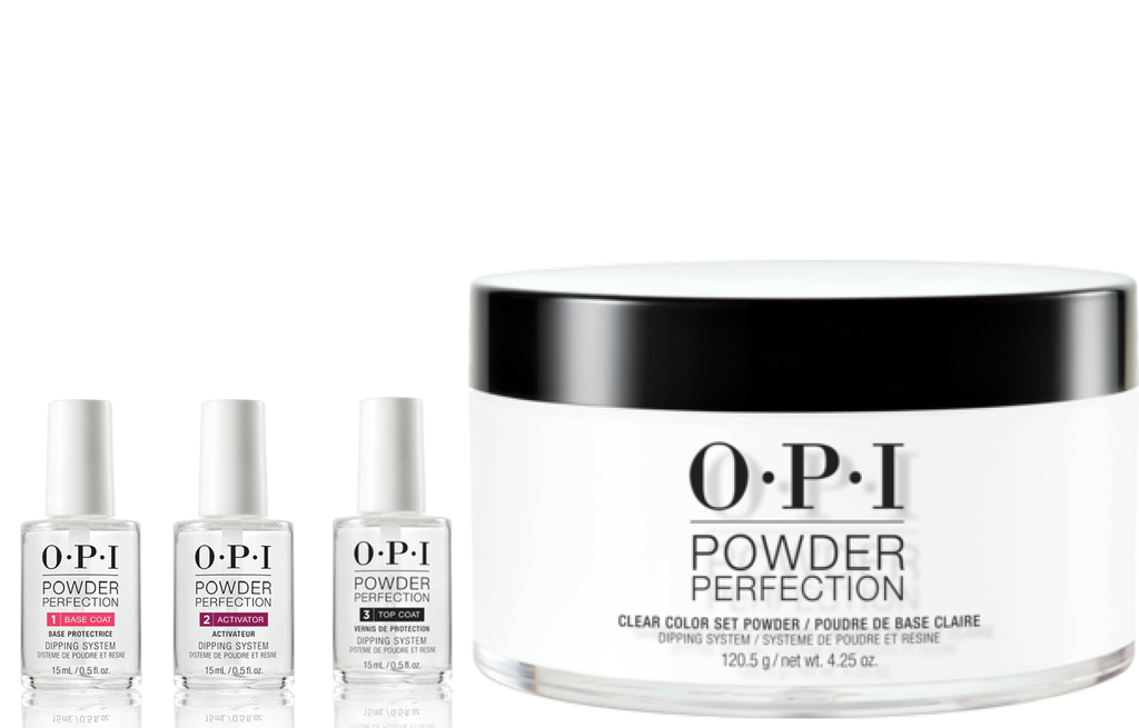 OPI PERFECT POWDER STARTER KIT 001 CLEAR