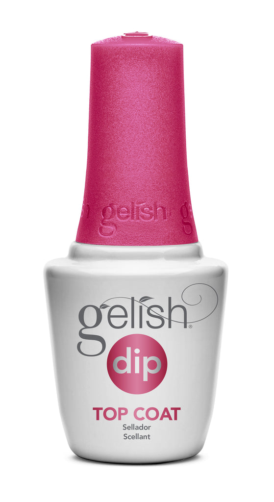 GELISH DIP SYSTEM | LIQUID #4 TOP COAT | 0.5 OUNCES