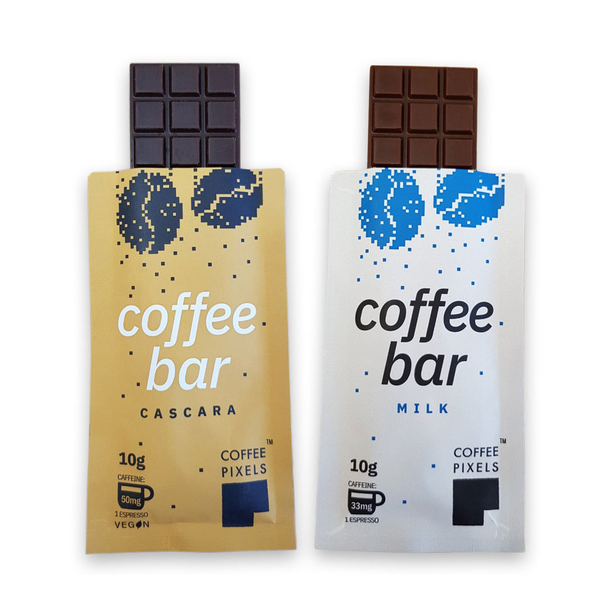 Coffee Pixels Super Sampler Pack - 4 Bars