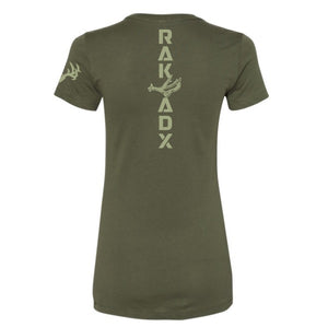 Ladies Ponderosa Muley Shed Tee