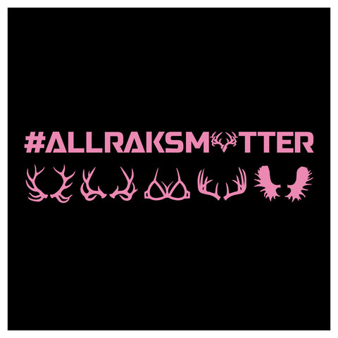 *TOP SELLER* All Raks Matter with Boobies Decal