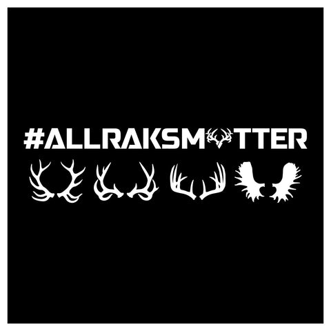 All Raks Matter Decal