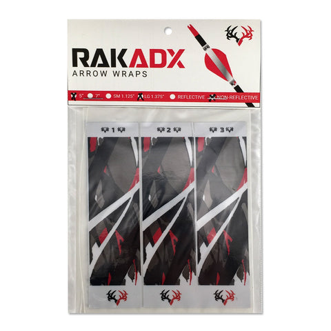 Rak Attack Arrow Wraps | Black