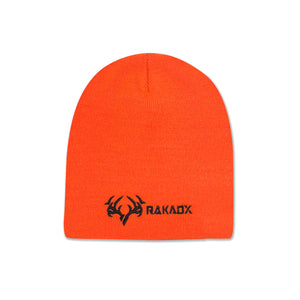 Blaze Orange Skull Cap Beanie