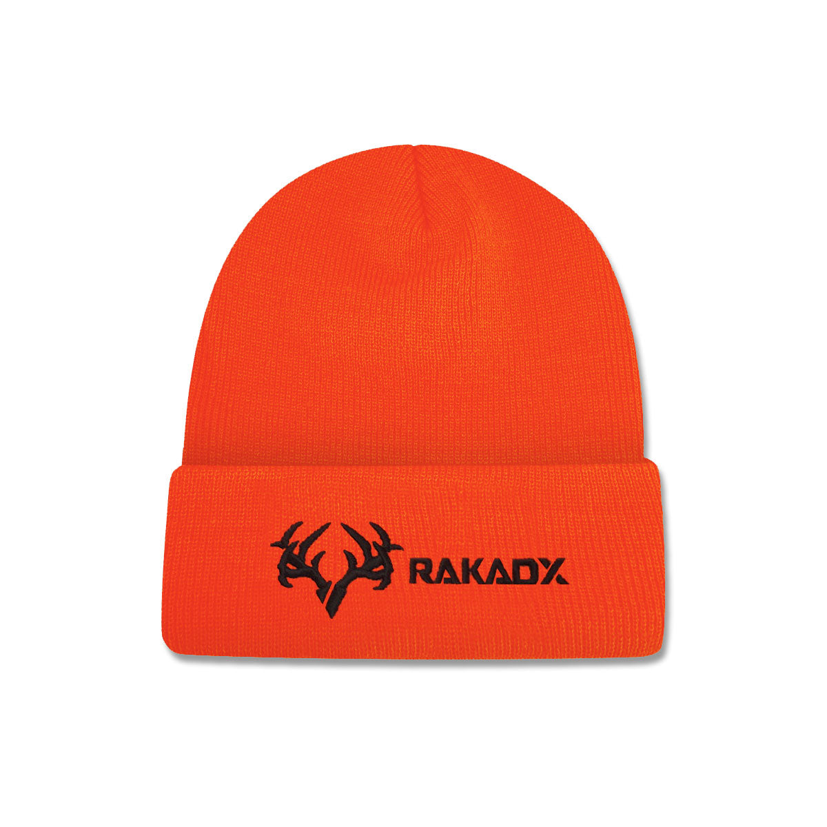 Blaze Orange Fold Over Beanie