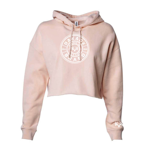 Ladies Buck Shot Crop Hoodie