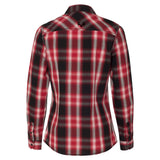 Ladies Jasper Western Shirt | Red