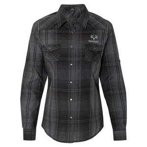 Ladies Jasper Western Shirt | Black*