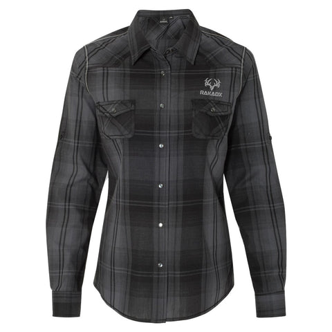 Ladies Jasper Western Shirt | Black