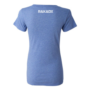Blue Star Spangled Rak Ladies Tee
