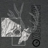 Ladies Topo Muley Deer Skull Shirt