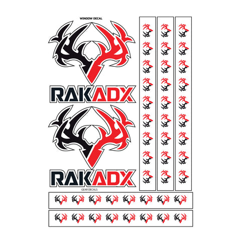 Rak Pack Reflective Gear Decals
