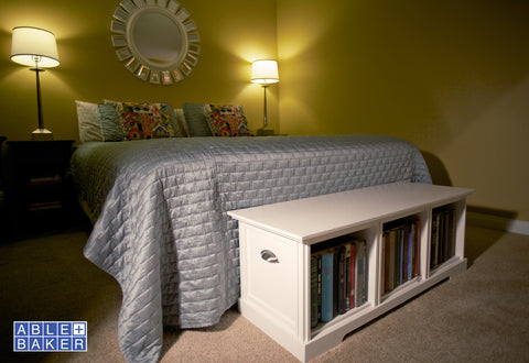 The Book Bin Storage Bench