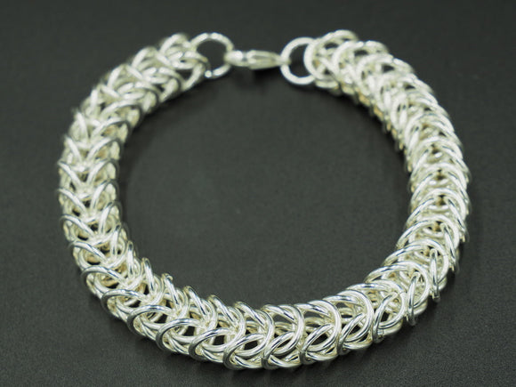 Sterling Silver Box Chain Bracelet