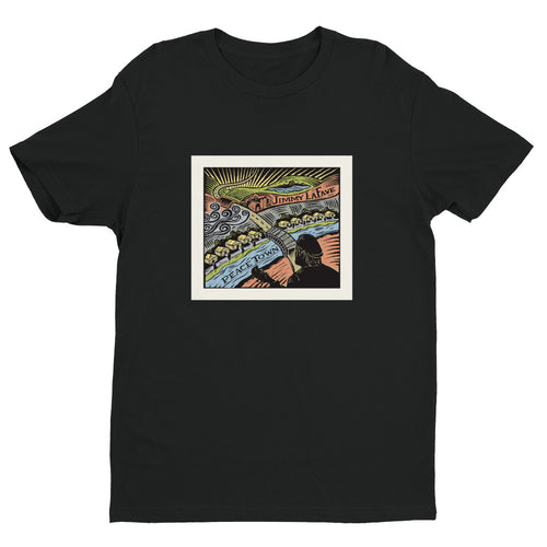 Jimmy LaFave Peace Town Men's Short Sleeve T-shirt